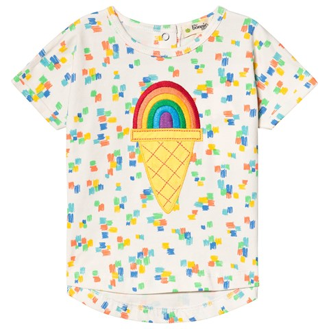 The Bonnie Mob Multicolour Rainbow Ice Patch T-Shirt $31.00
