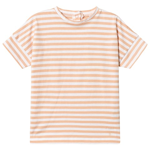 Gray Label Pop and White Stripe Oversized T-Shirt $44.00
