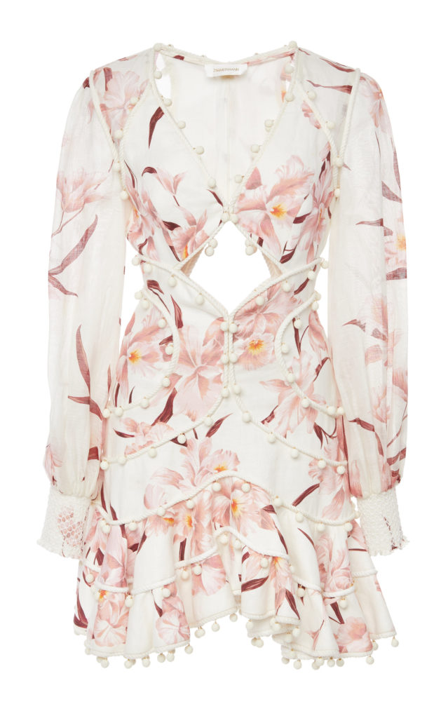 Zimmermann Corsage Bauble Mini Dress $1,895