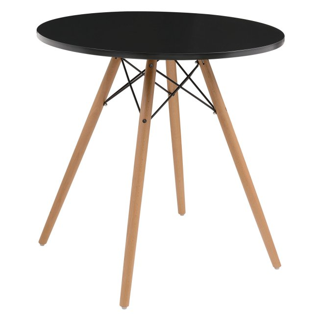 Emerald Home Annette 27 in. Round Table with Beechwood Legs $129.59