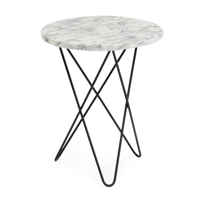 Coral Coast Londyn Faux Marble Patio Side Table $69.99