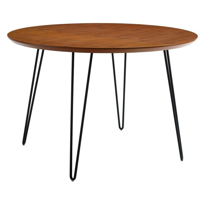 Walker Edison Round Hairpin Leg Dining Table $299.00