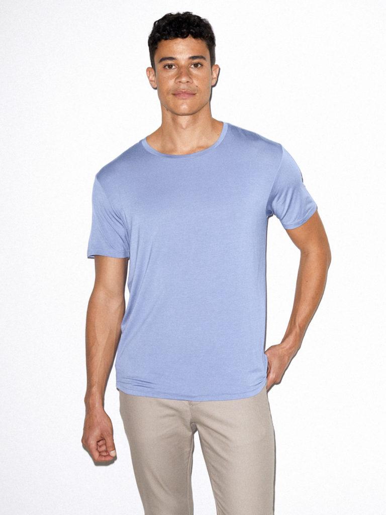 Mix Modal Short Sleeve T-Shirt $22.00