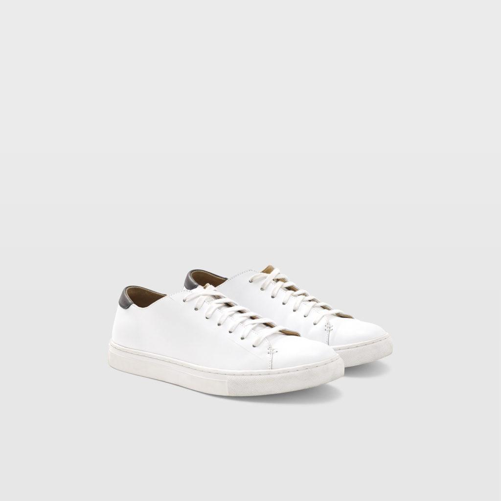 Club Monaco Leather Sneaker $98.50