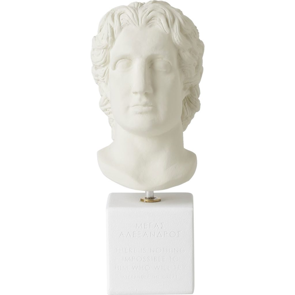 """Alexander the Great """"There is nothing impossible to him who will try"""" $37.11"""