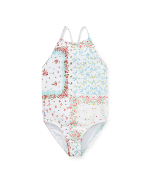 Patchwork One-Piece Swimsuit $55.00https://fave.co/2Bx0p6v