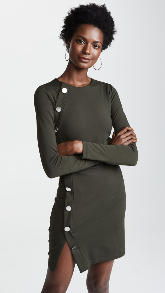 Susana Monaco Button Detail Dress $184.80