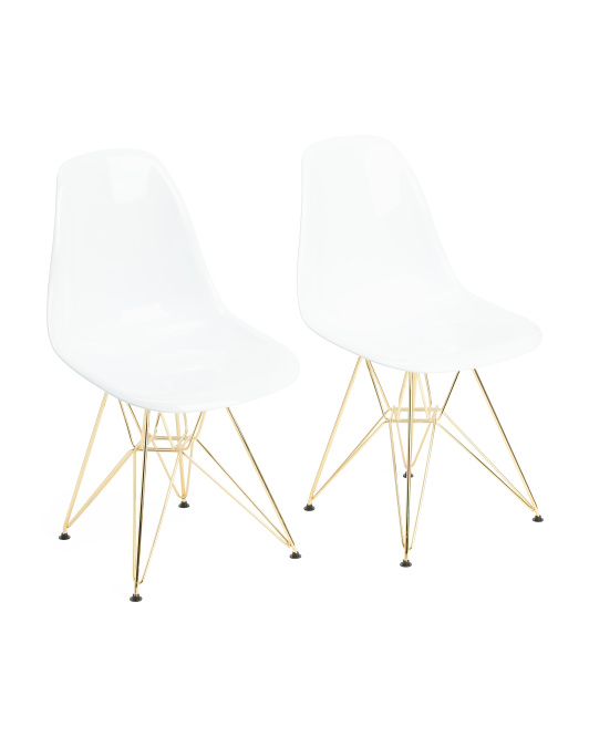 LUMISOURCE Set Of 2 Brady Chairs $149.99