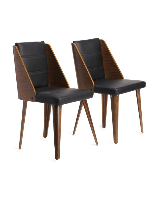 LUMISOURCE Set Of 2 Galanti Dining Chairs $149.99