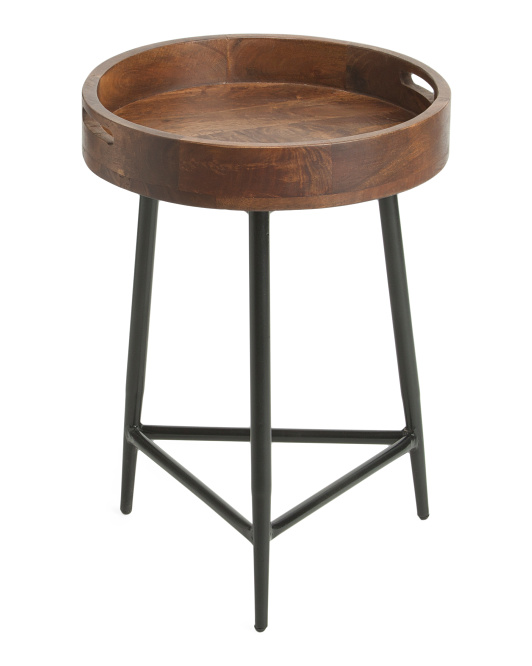 CLASSIC HOME Cassia Round End Table$79.99