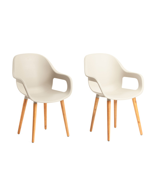 UMA Set Of 2 Dining Chairs $139.99