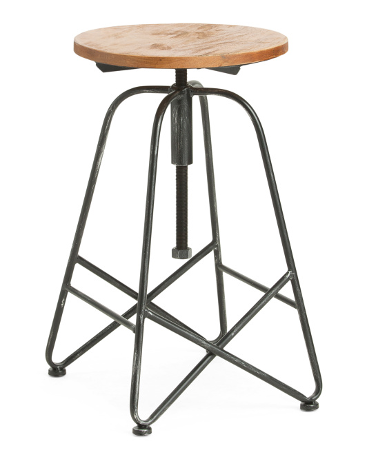 THREE HANDS Barstool $59.99