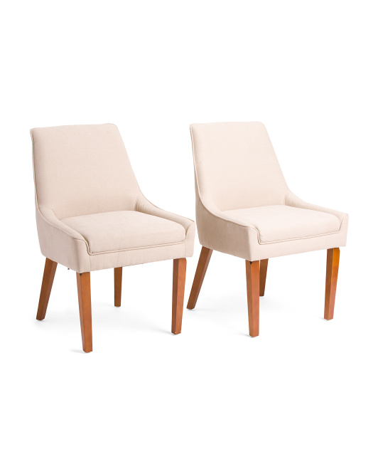 KUKA HOME Set Of 2 Dining Chairs $199.99