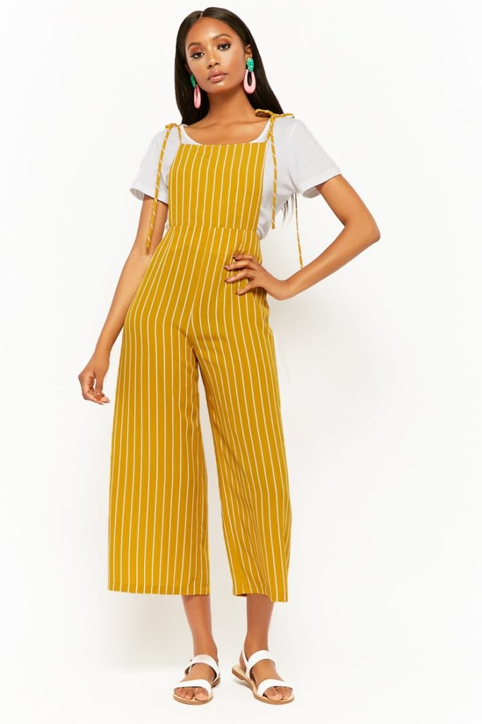 Striped Self-Tie Overalls $16.99https://fave.co/2Ull9Wo