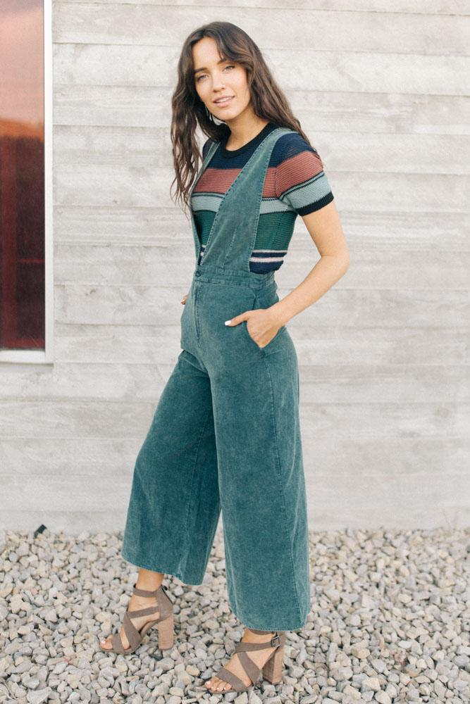 Oh So Groovy Wide Leg Jumpsuit $72.50
