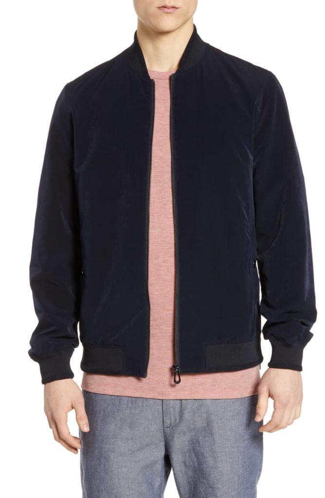 Len Slim Fit Bomber Jacket TED BAKER LONDON $315.00