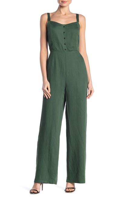 MELLODAY Button Detail Woven Jumpsuit $36.97