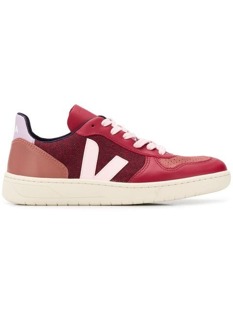 VEJA colour block sneakers $133