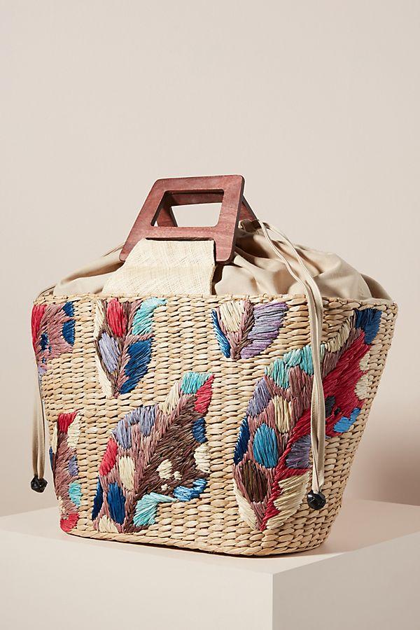 Aranaz Louise Embellished Tote Bag $298.00