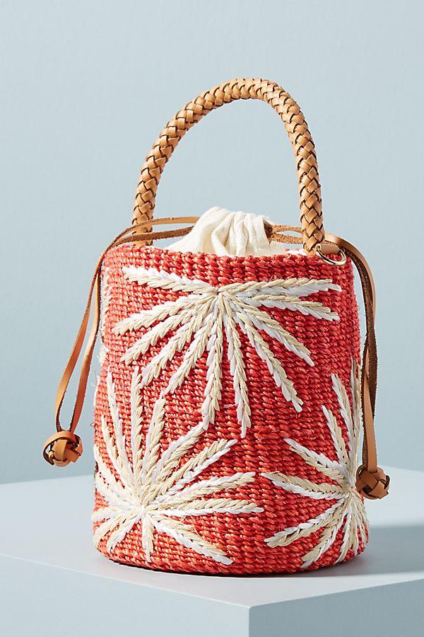 Aranaz Ola Embellished Bucket Bag $328.00