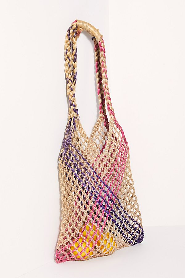 Simply Perfect Crochet Tote $38.00