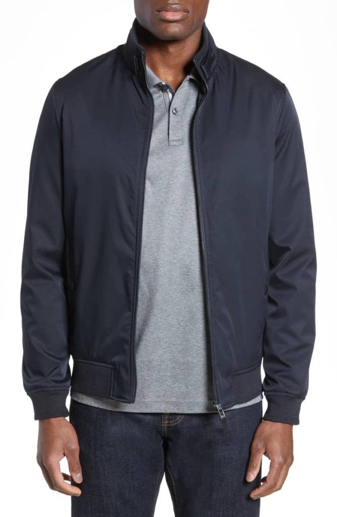 Claude Slim Fit Bomber Jacket TED BAKER LONDON $349.00