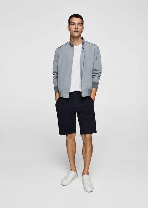 Technical fabric jacket $89.99