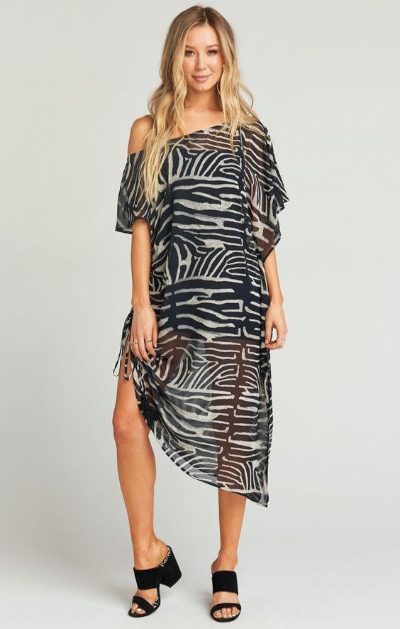MARINA MAXI DRESS ~ ZEBRA KING $176.00
