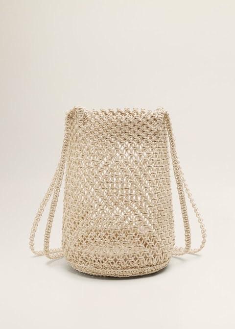 Braided net bag $39.99