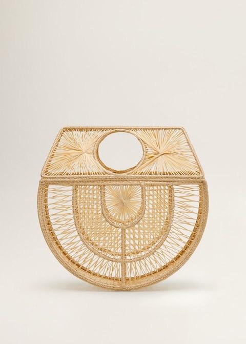 Raffia handmade bag $129.99