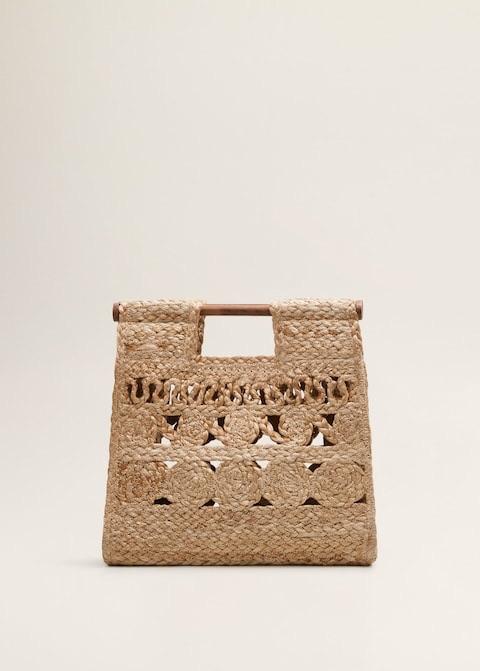 Jute handbag $49.99