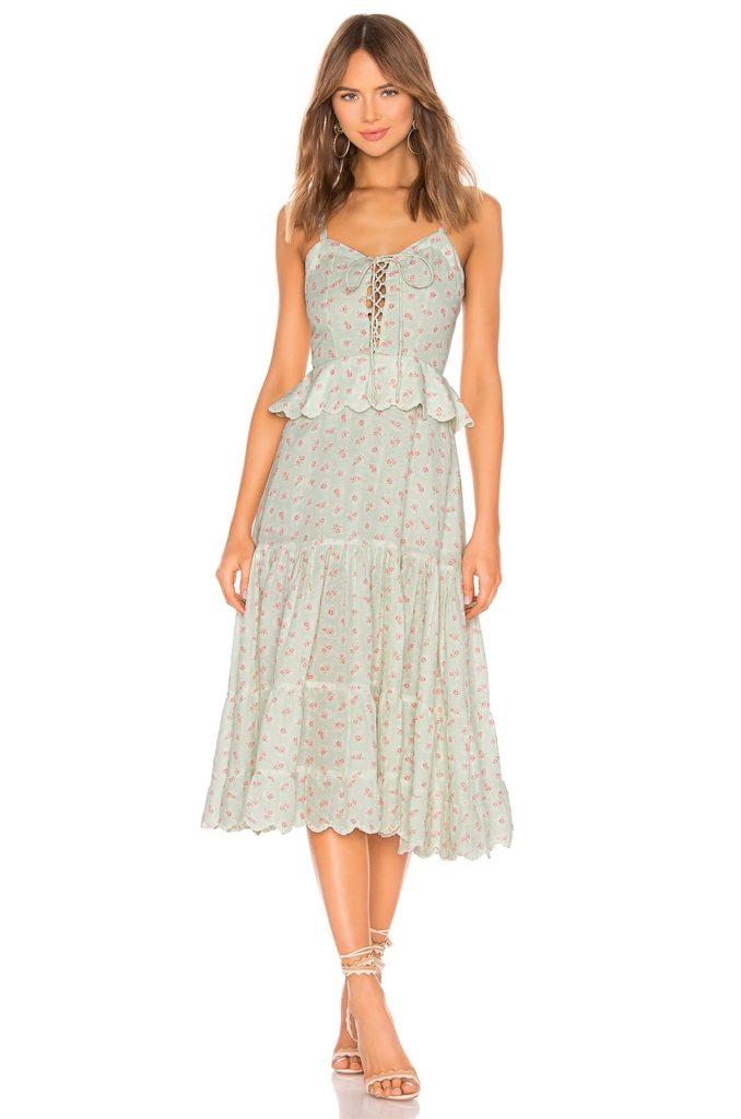 Sana Linen Dress HEMANT AND NANDITA $455