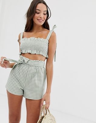 union apple check beach two-piece in green$76.00https://fave.co/2X7im54