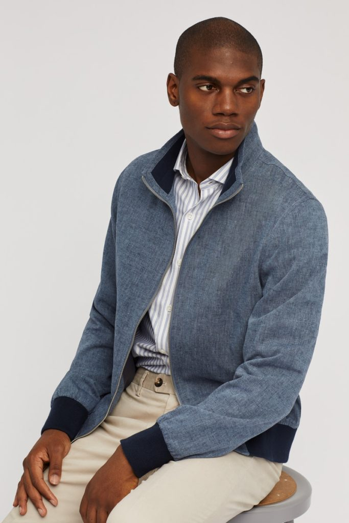 The Cotton Bomber Jacket $168.00