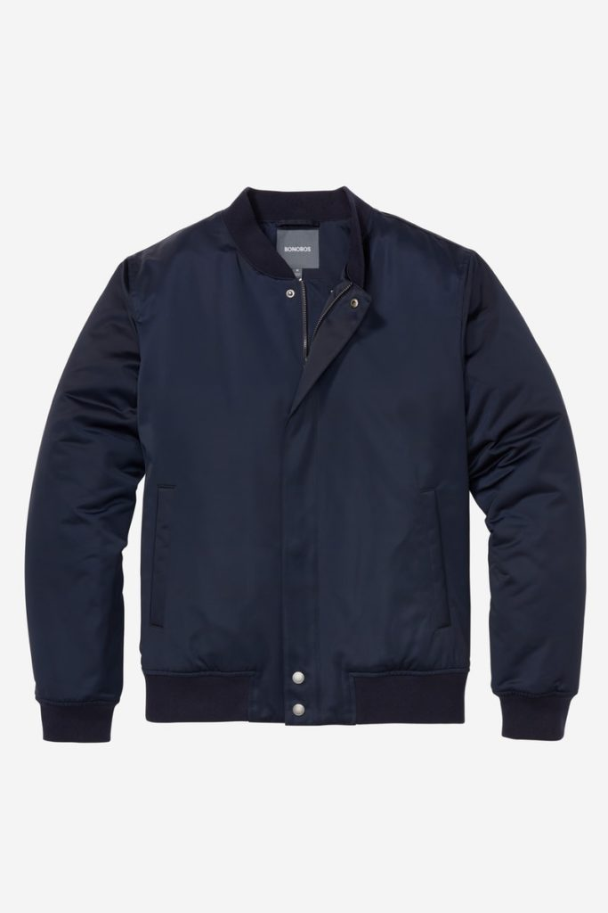 The Quilted Boulevard Bomber Jacket $88.00