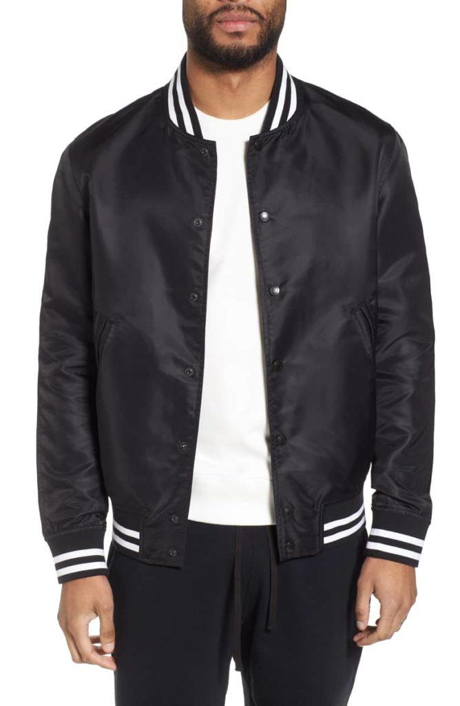 Logo Bomber Jacket REIGNING CHAMP $127.98