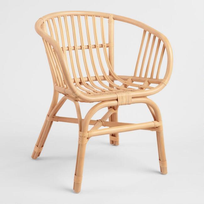 Natural Rattan Rachelle Chair Set Of 2 $319.