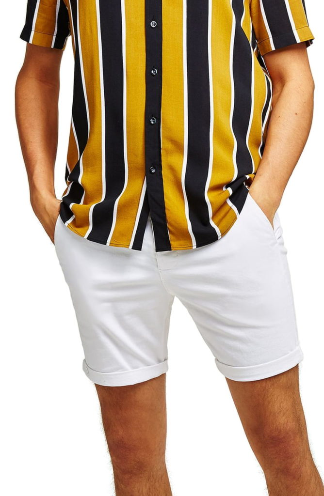 Skinny Fit Chino Shorts TOPMAN $35.00–$40.00