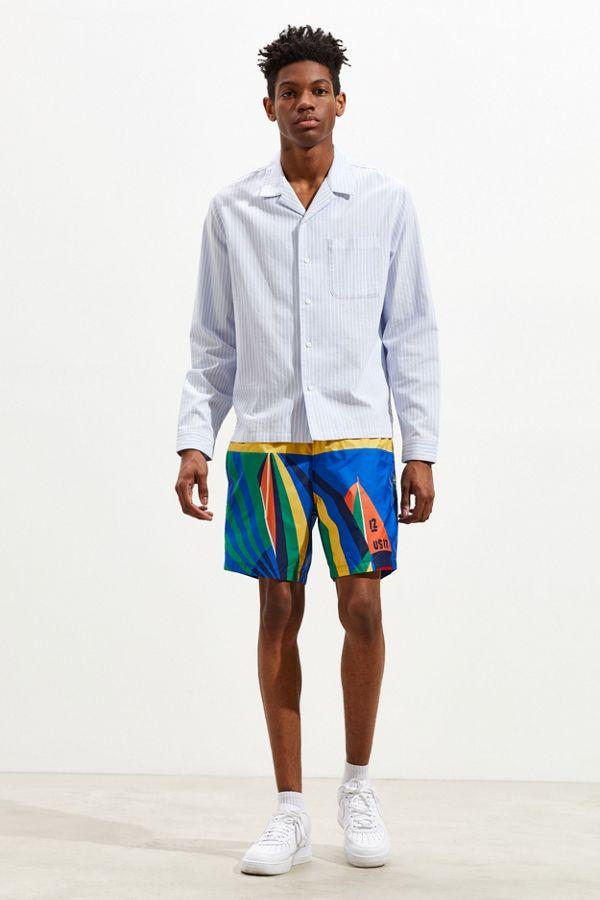 Polo Ralph Lauren Sailboat Graphic Nylon Short $298.00