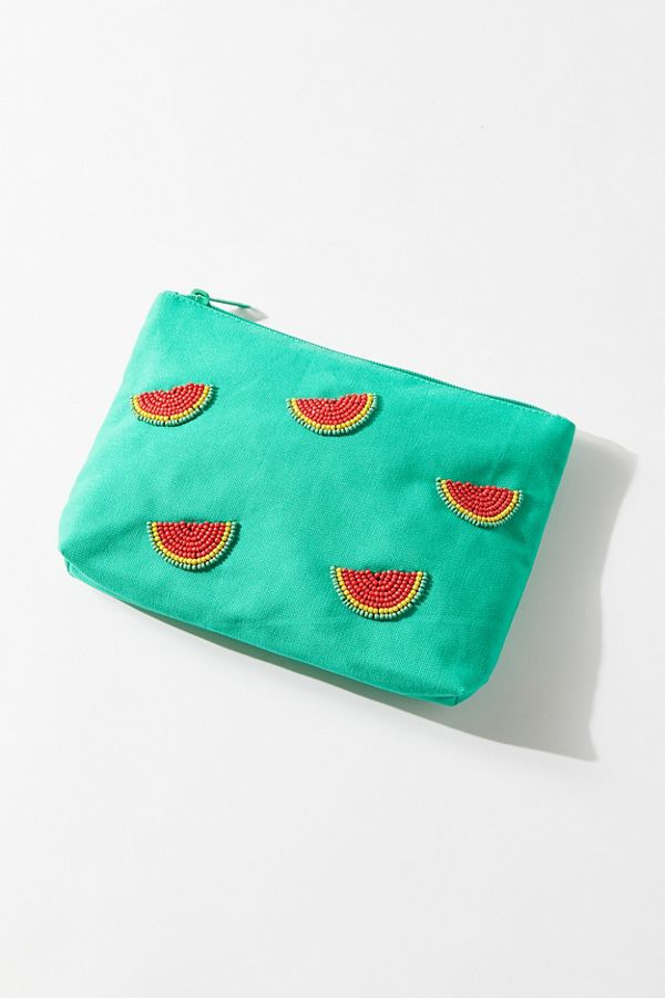Beaded Fruit Pouch $19.00