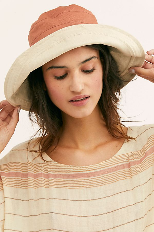 Maisy Reversible Canvas Hat $38.00