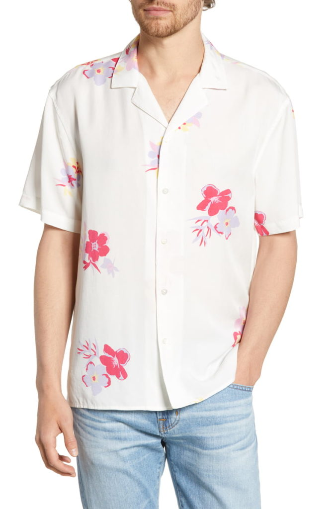 Slim Fit Cabana Sport Shirt BONOBOS $98.00