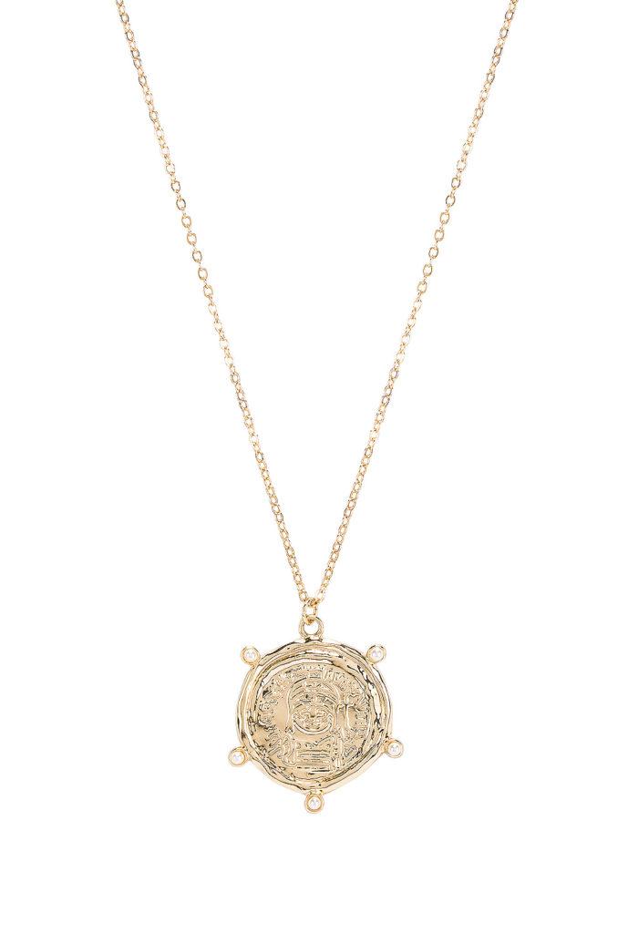 X REVOLVE Berlin Necklace Amber Sceats $51