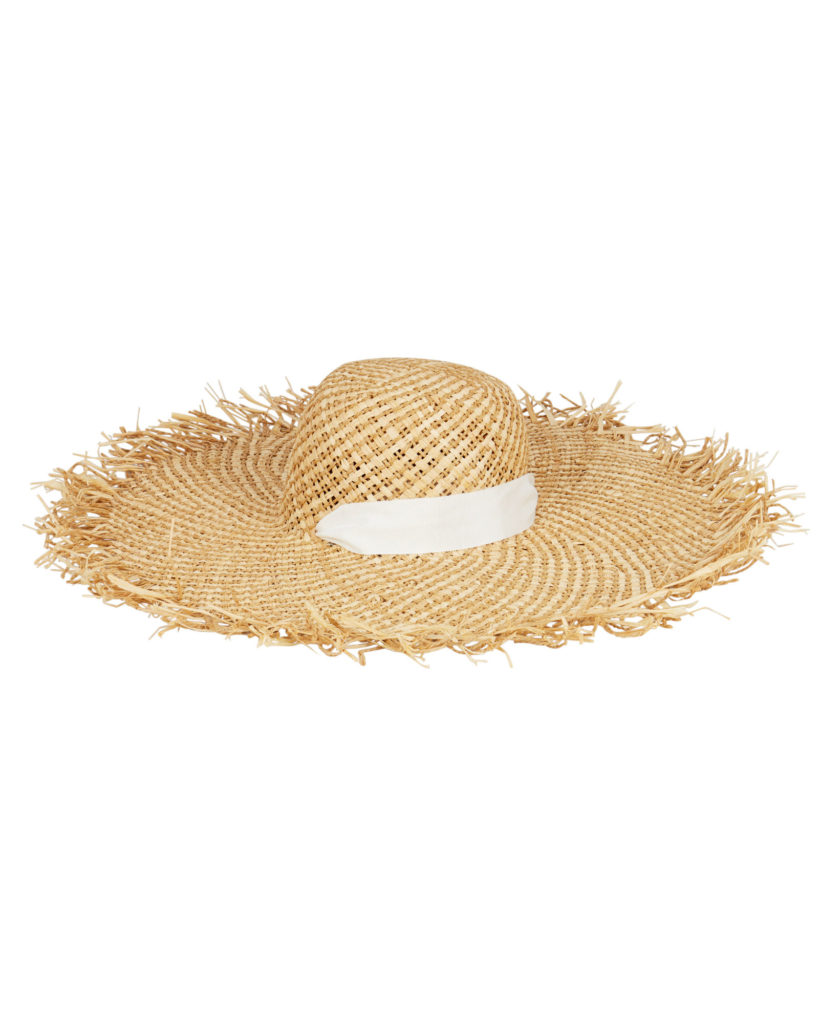 AVENUE THE LABEL Darley Fray Sun Hat $135