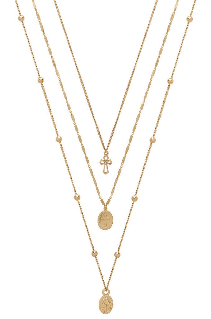 Single Charmer Necklace Set Ettika $55