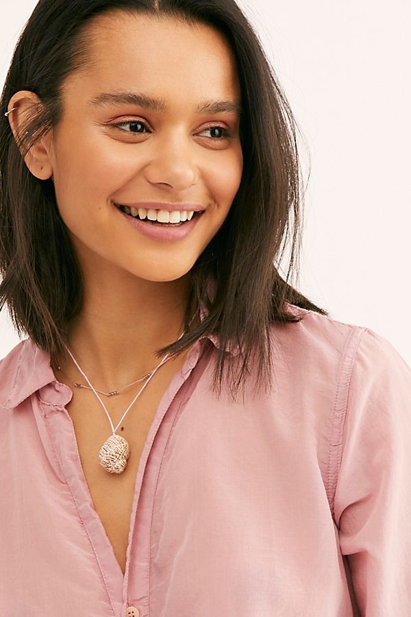 Lagoon Layer Necklace $38.00