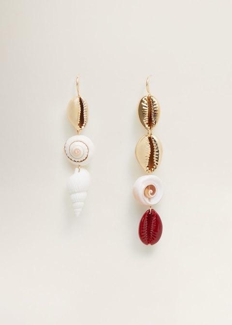 Shell pendant earrings $25.99