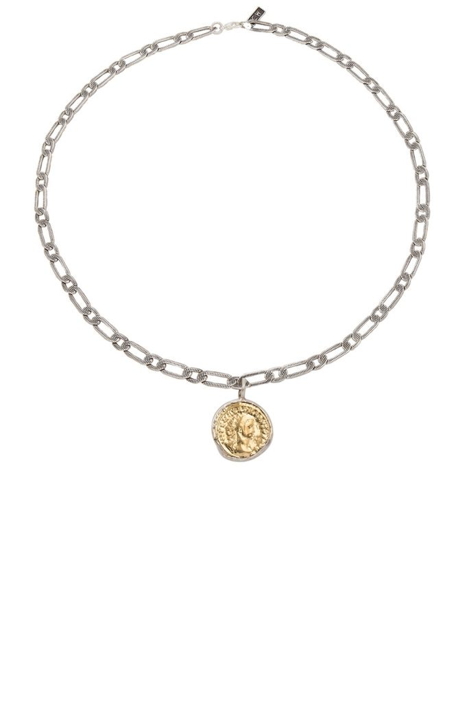 Aurelian Coin Necklace  Child of Wild $98