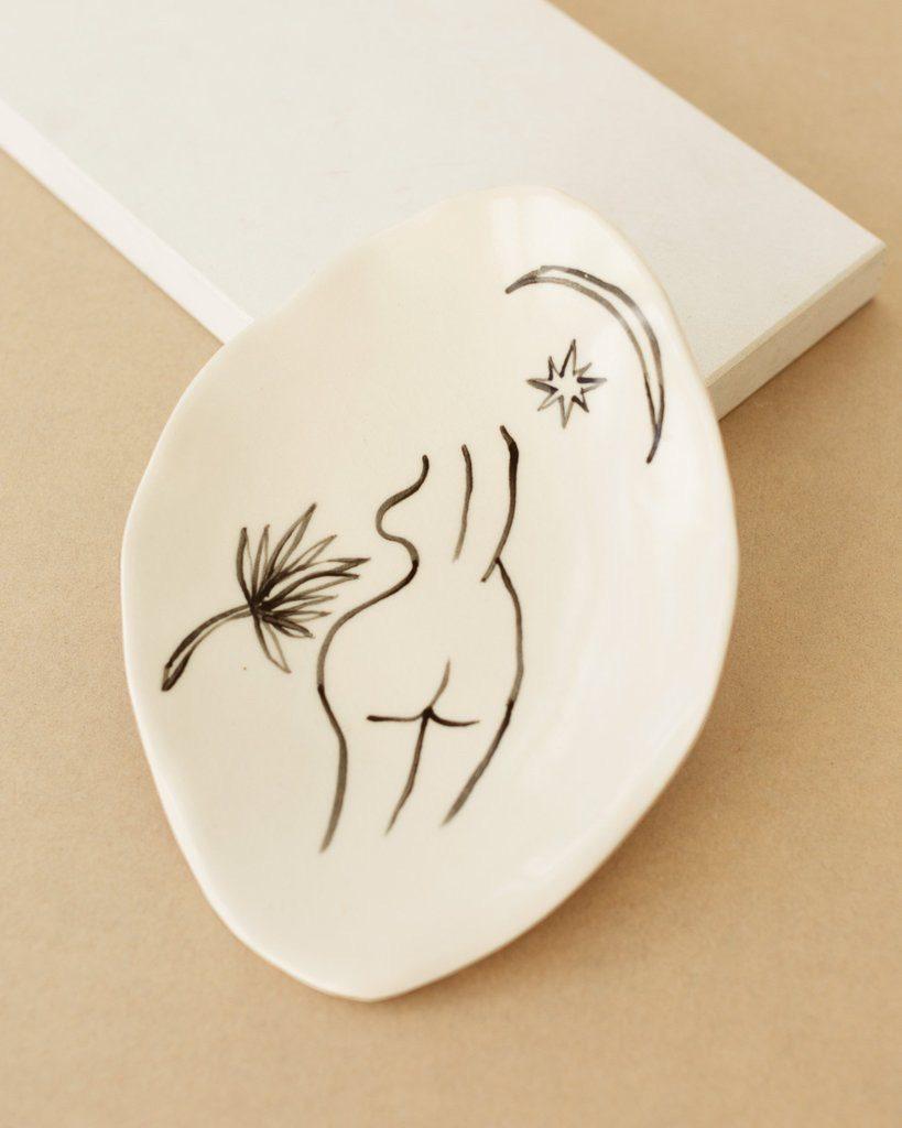 Femme Ceramic Dish $45