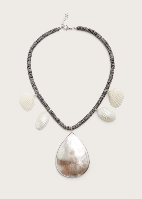 Shells bead necklace $49.99